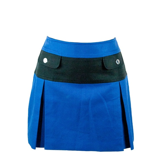 887ad3099d Karen Millen Skirts | Color Block Blue A Line Mini Sailor Skirt 8 ...